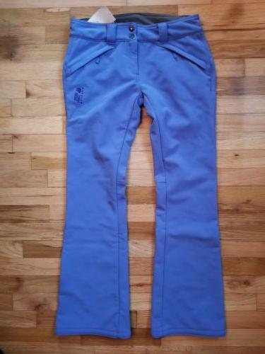 nwt sharp chuter softshell ski pants fleece