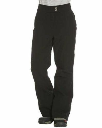 NWT Gerry Women's Fleece Lined Snow Pants- 4 Way Stretch, Bl