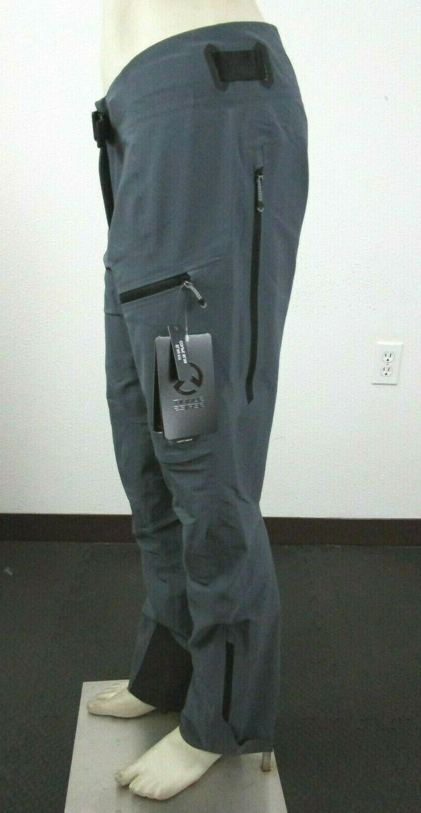 NWT Womens Face Summit Softshell Ski Grey $200