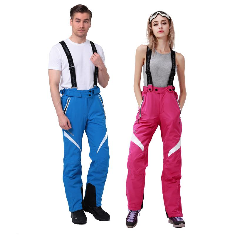 ROYALWAY Outdoor <font><b>Pants</b></font> Suspenders Trousers Warm Winter Snow