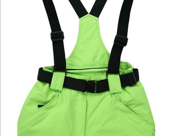 Outdoor Camping Straps Ski Pants Woman -30 Degrees Wind