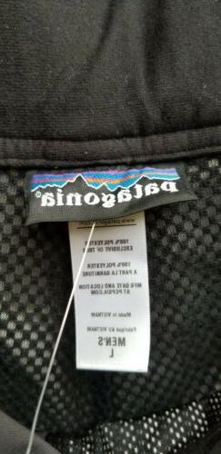 Patagonia Black Men's Rain Ski Snow H2NO Size L NEW WITH TAGS