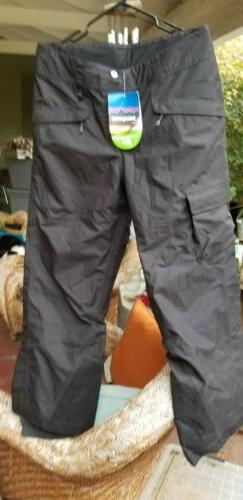 Patagonia Black Ski Snow Pants H2NO WITH