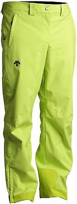 Descente Rover Ski Pants Lime Green Mens Sz 34