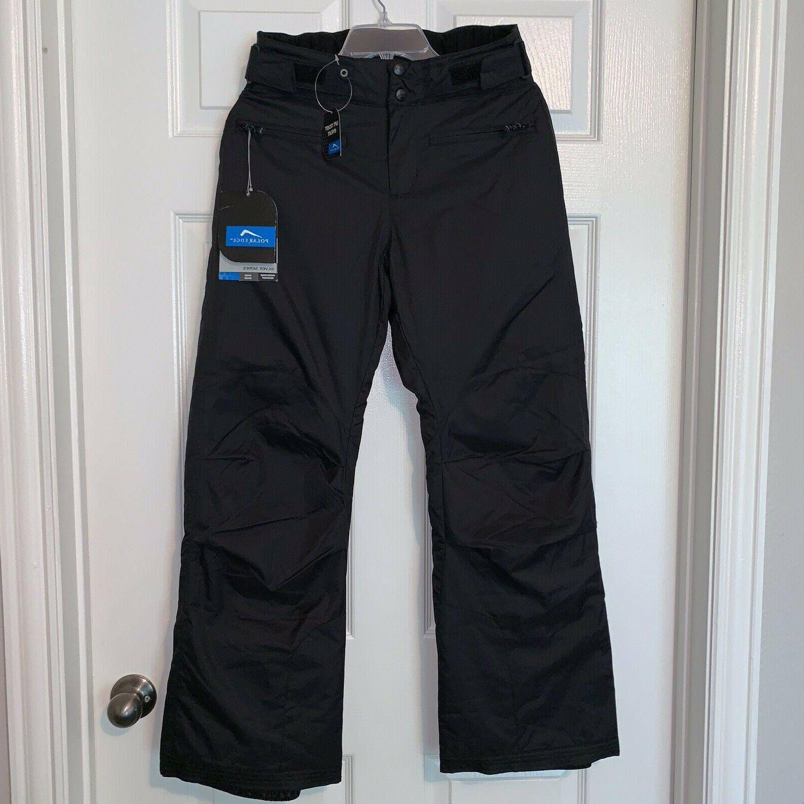 Polar Silver Womens Insulated Snowboarding Black Sz
