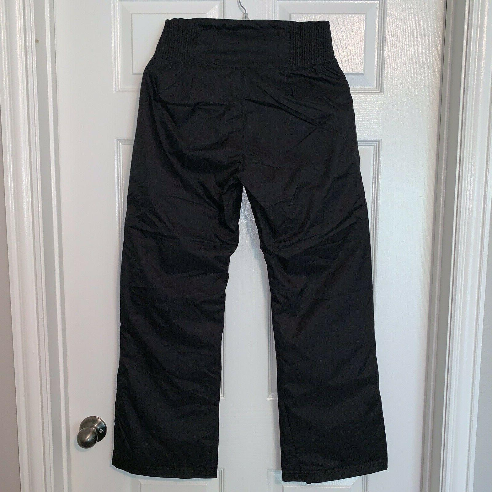 Polar Silver Womens Insulated Pants Snowboarding Black Sz S