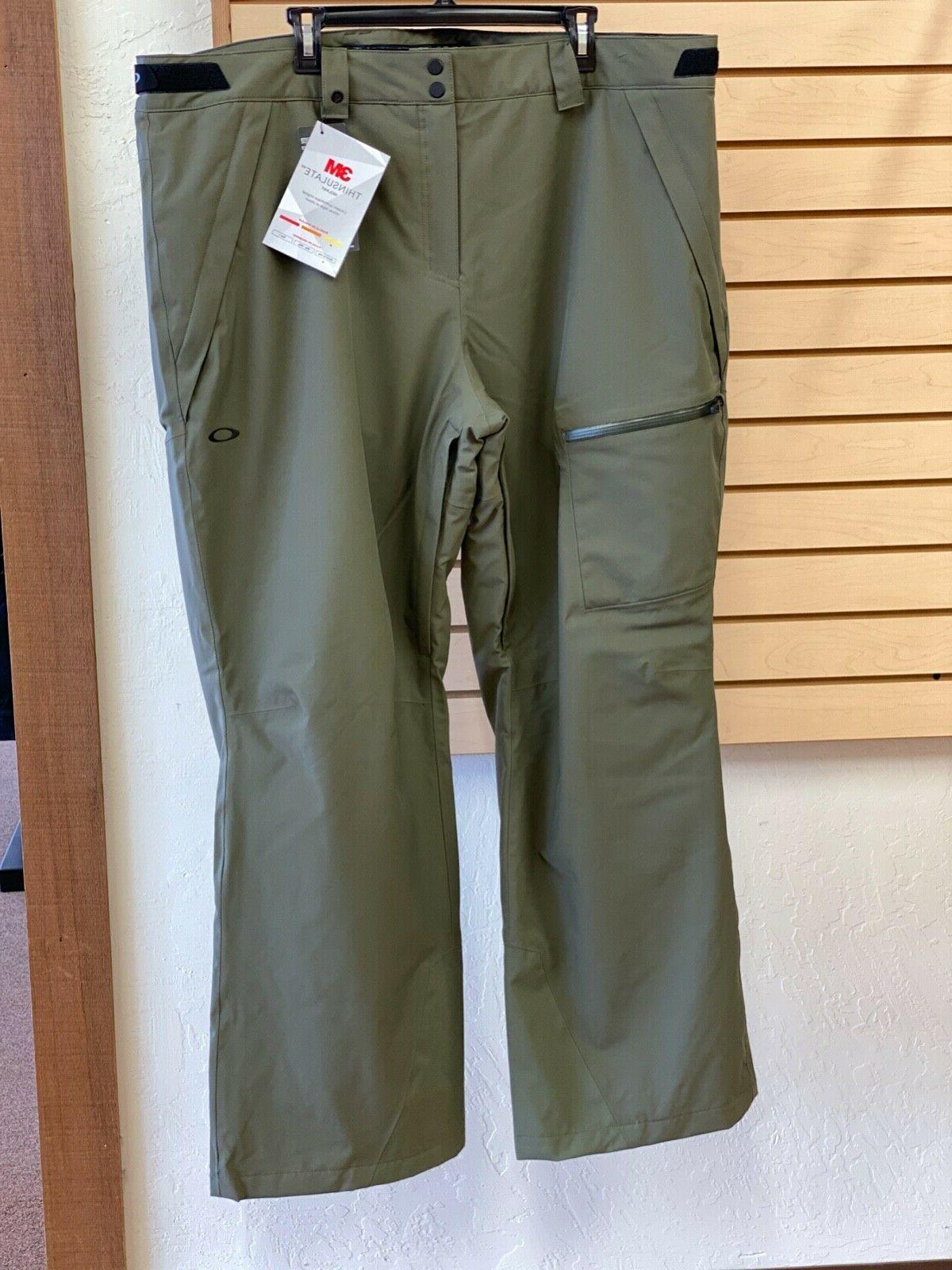 ski insulated 2l pant size 2xl