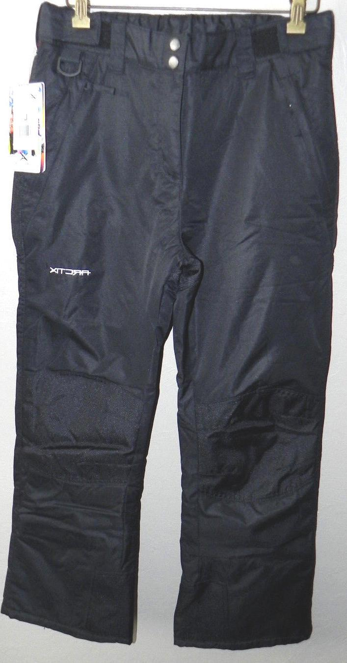 Arctix Ski Pants, Youth Large, Black, New With Tags