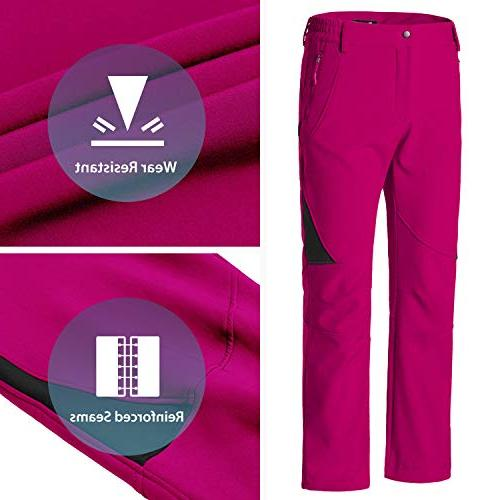 Wantdo Women's Insulated Pants Rose Red XL