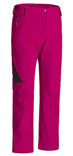 Wantdo Snow Insulated Fleece Softshell Pants Red XL