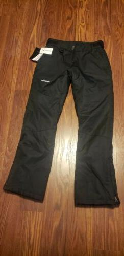 Arctix Ski Snow Pants Womens Black Size Small