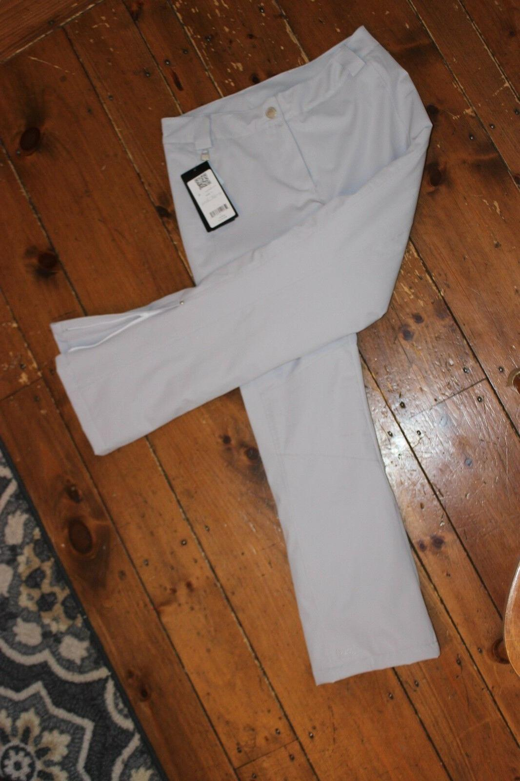 ski snow pants womens size 12 silver