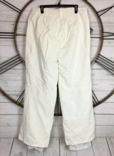 White Ski Snow Pants Pant