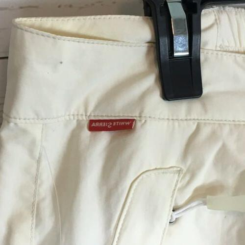 White Ski Snow Pants XL Womens Cadrona Pant Breathable