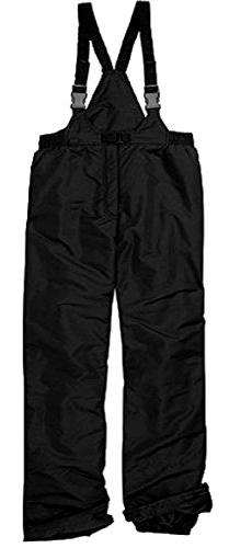 New Pulse Men's Black Ski Bib