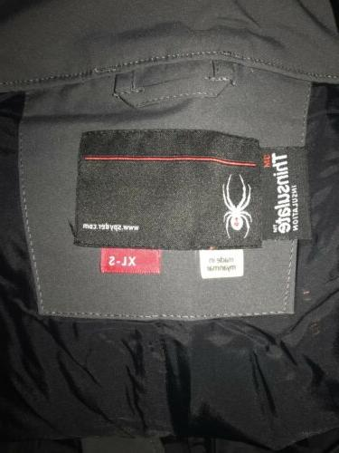 Spyder Ski Pants Bib Mens