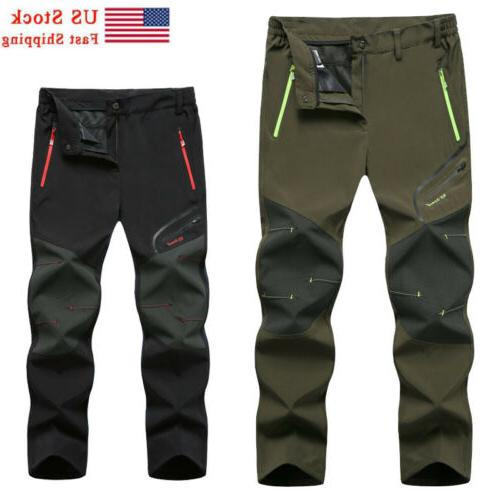 Skiing Shell Mens Outdoor Trousers Lined