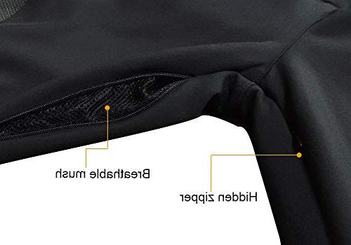 Gash Hao Mens Ski Waterproof Pants Outdoor Zipper Leg
