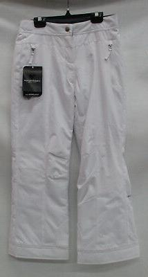 Obermeyer Teen Girl Brooke Insulated Ski Pants 35007 White S