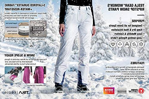 CQR Snow Pants Windproof Insulated
