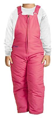 Arctix Infant/Toddler Insulated Snow Bib Overalls,Fuchsia,5T