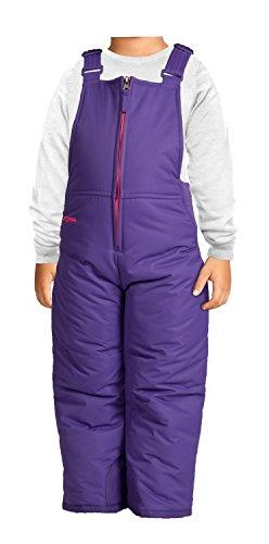 Arctix Infant/Toddler Insulated Snow Bib Overalls,Purple,4T