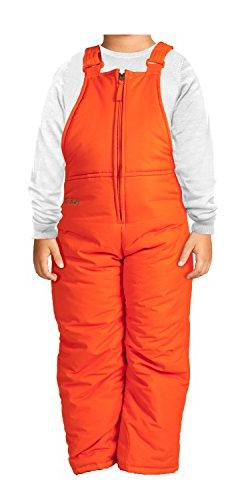 Arctix Infant/Toddler Insulated Snow Bib Overalls,Sunset Ora