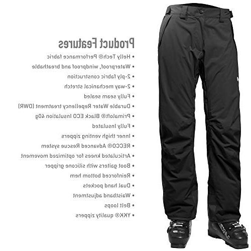 Helly Insulated Pants, Black,