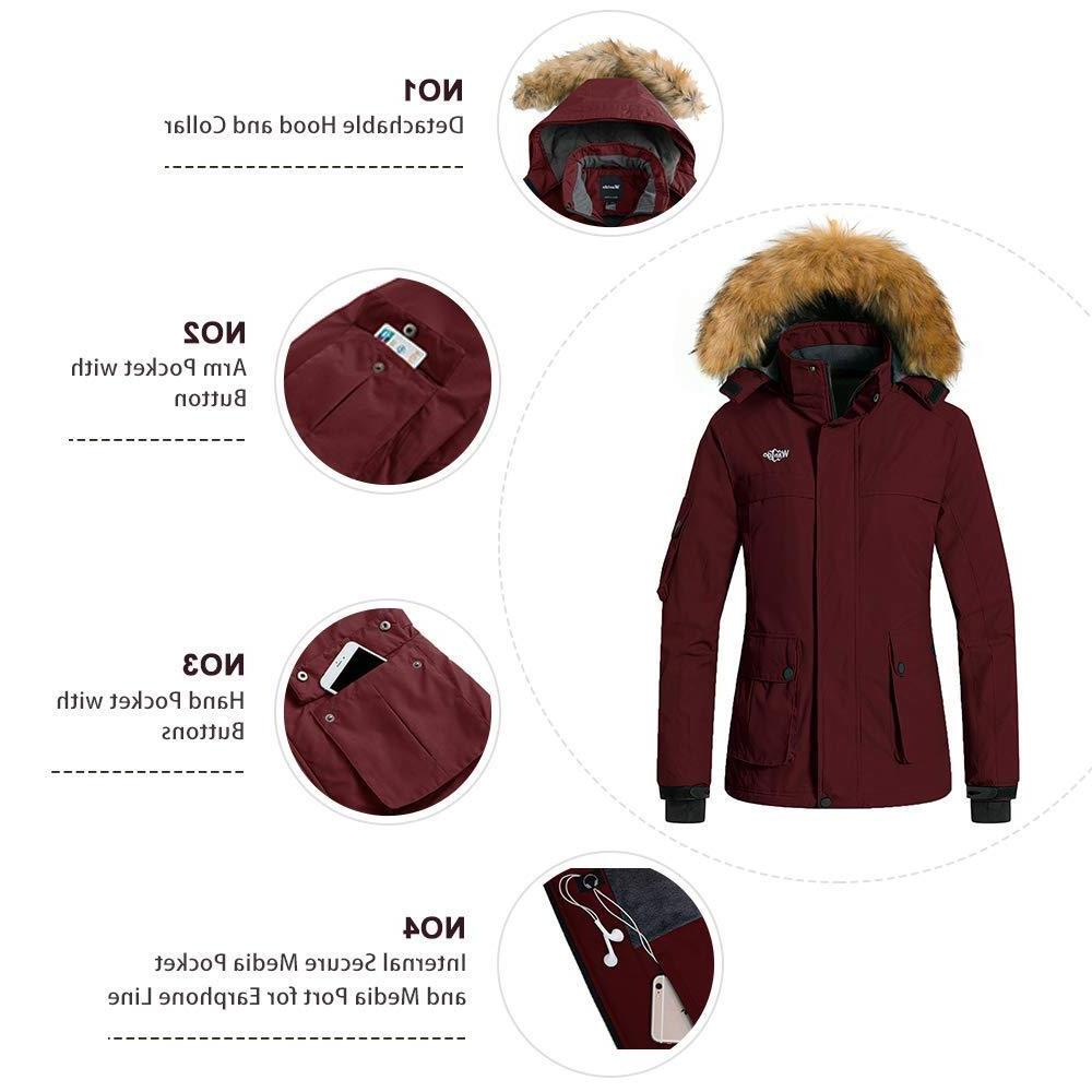 Wantdo Warm Mountain Waterproof Windproof