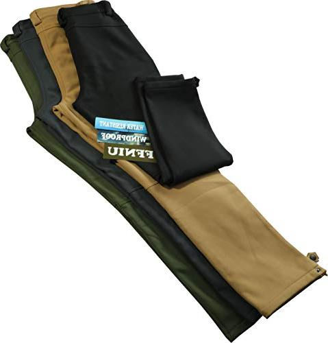 Men's Warm Lined Pants Hiking Ski Water Trousers