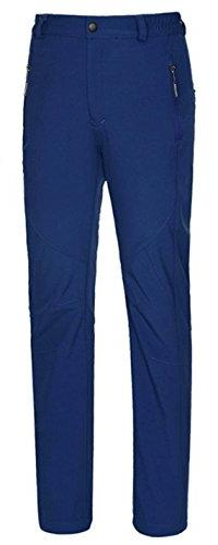 Top-EC Women's Waterproof Mountain Pants Fleece Windproof Sk