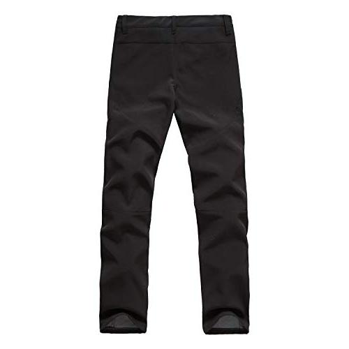 Yutona Windproof Waterproof Ski Pants Soft Fleece Trouser