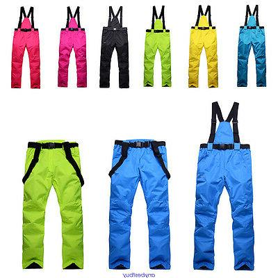 women and mens windproof overall ski snow
