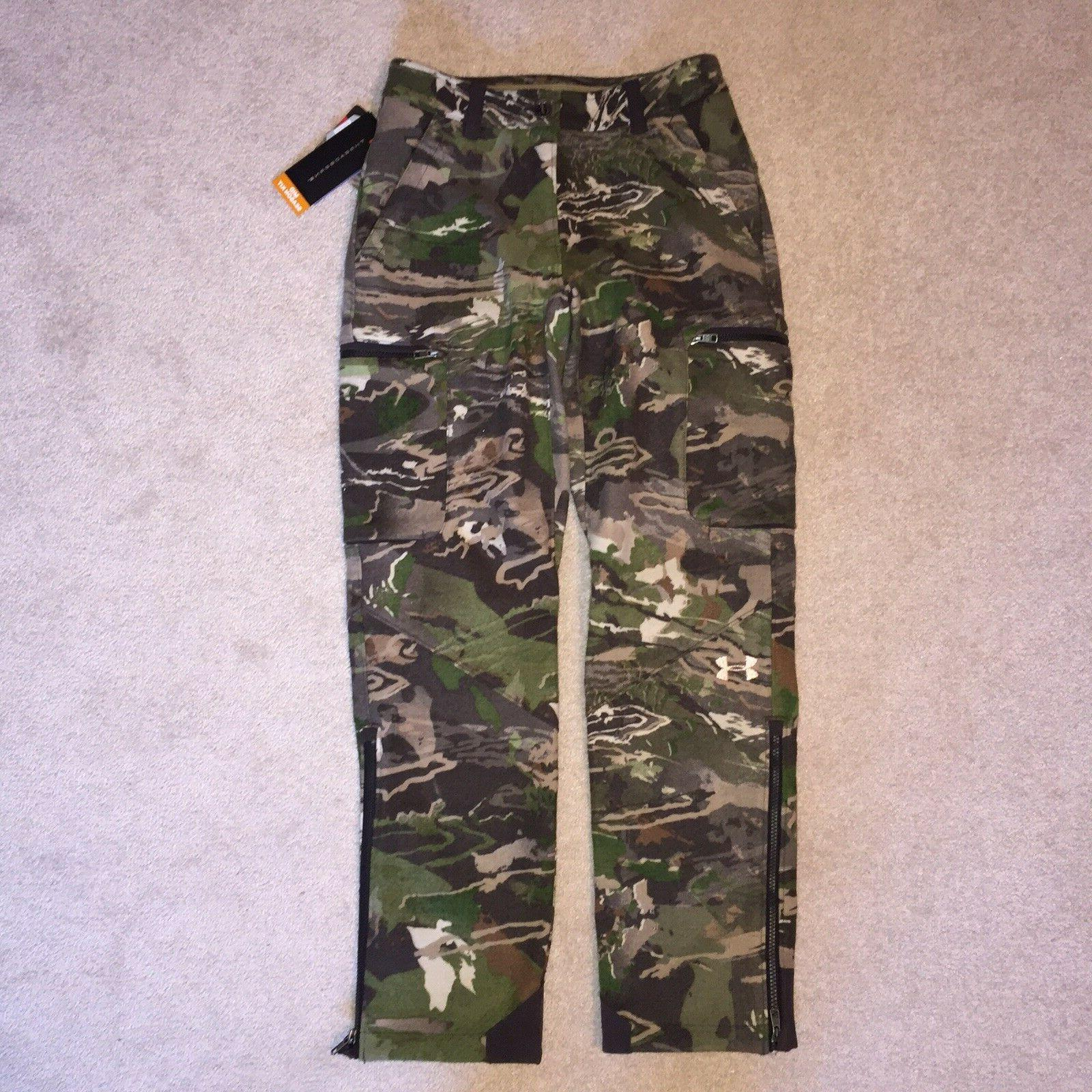 UNDER ARMOUR 6 Hunting Hiking MID PANTS $224