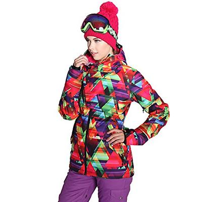 HOTIAN Women's High Windproof Technology Colorful Jacket