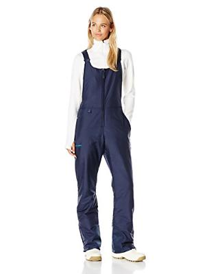 Women's Insulated Overalls Bib, Medium, Blue Night