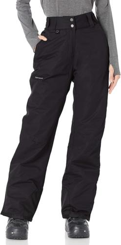 Arctix Women's Insulated Snow Pant, Black, Medium/Petite
