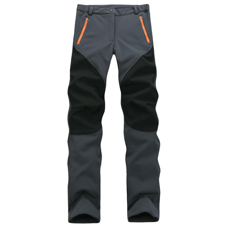 Women's Waterproof Fleece Winter Snow Hiking Pants