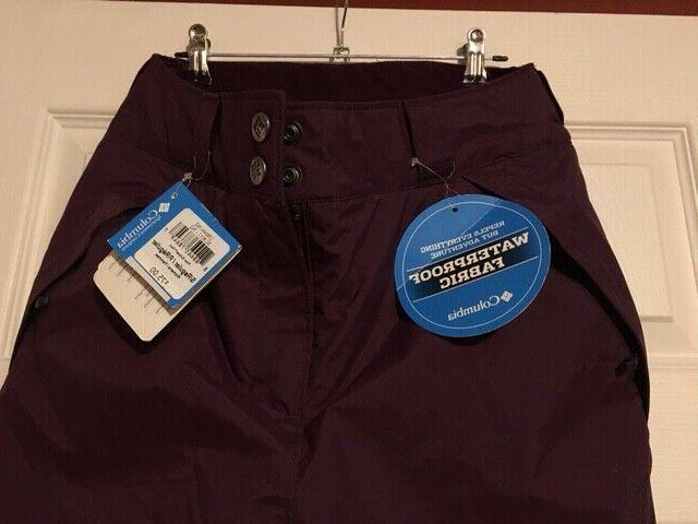 COLUMBIA Polar Ski Waterproof Pants Sz Dahlia