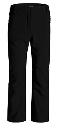 Wantdo Women's Ski Snow Insulated Pants Fleece Softshell Win