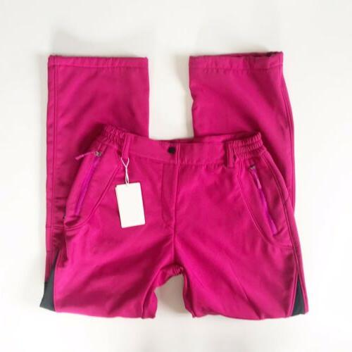WANTDO Pants Lined Size Softshell