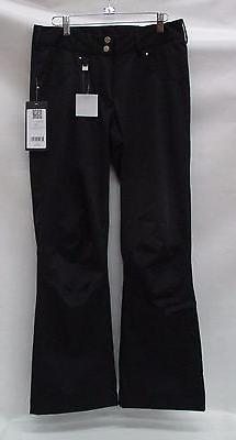 Nils Womens Barbara Stretch Ski Pants 3400P Black Size 8/Pet