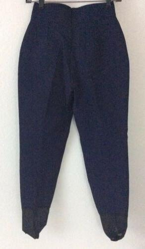BOGNER Blue Stretch Stirrup Ski Pants Sz 6 n10