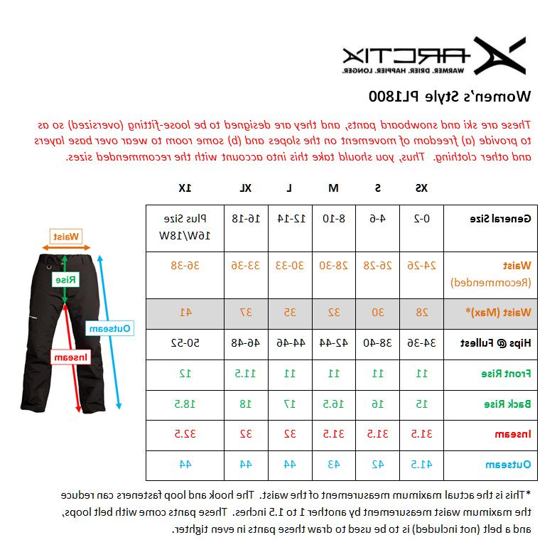 Skigear by Arctix Insulated Snowboard Ski Pants,