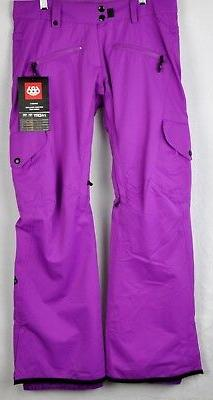 686 Womens Mistress Insulated Ski Cargo Pants L8W412 Violet