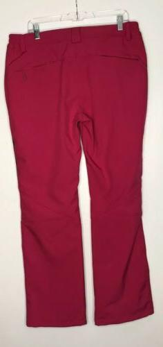 Wantdo Pants Pink Insulated Softshell