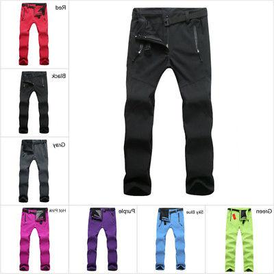 Womens Outdoor Ski Pants Windproof Trousers