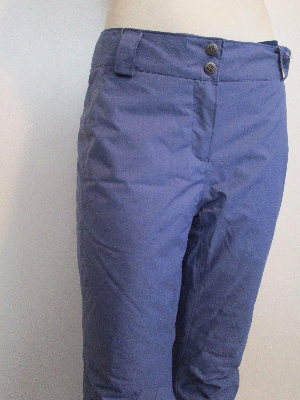 Womens Columbia Trip Insulated Snow Pants Blue