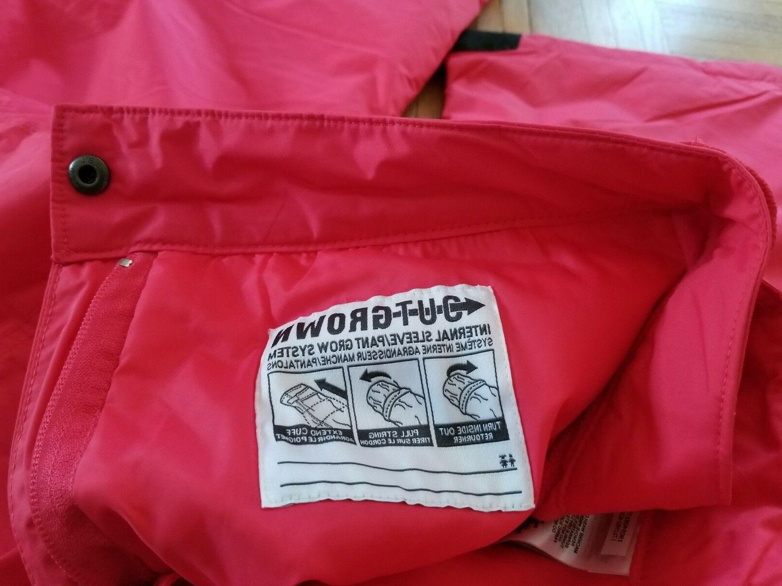 COLUMBIA Youth Girl's Now Later Snow/Ski Pants NWT New Pink