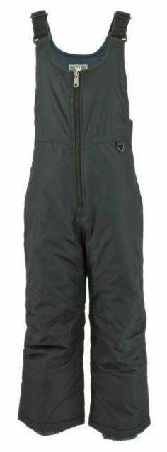 White Sierra Youth Insulated Bib Pant # Small